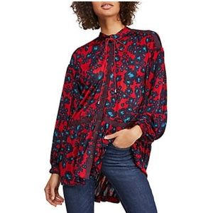 Free People  Love Letter Tunic Boho blouse new